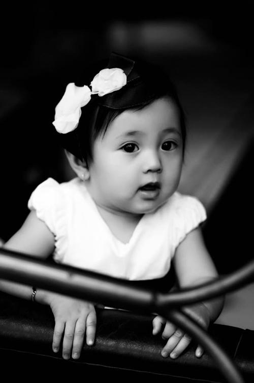 Con gái hà kiều anh môi trái tim mắt huyền xinh ngẩn ngơ - 6