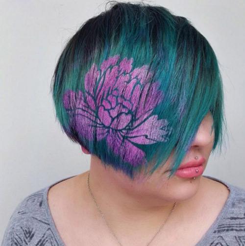 Hoa mắt với mốt tóc màu sắc đang mê hoặc phái đẹp