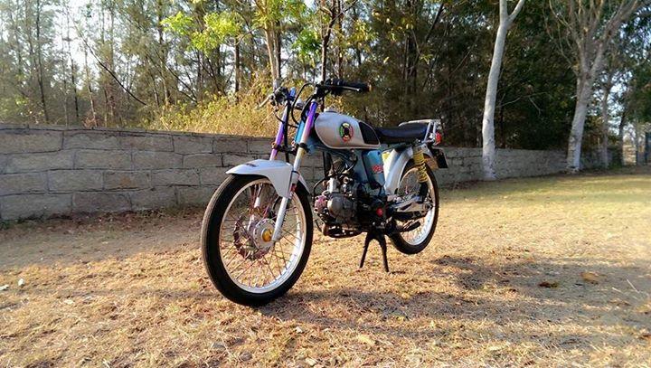 Honda 67 độ kiểng nhẹ để giành đi cf sáng - 3