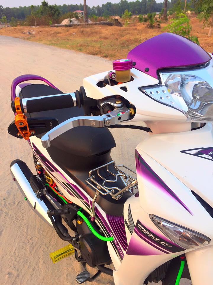 Honda future neo độ nổi bật và bắt mắt với dàn đồ chơi kiểng