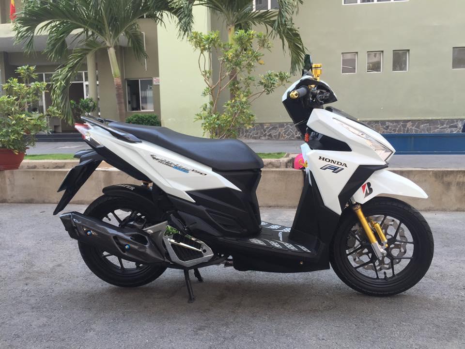 Honda vario 150 trắng tinh khôi đầy phong cách - 1