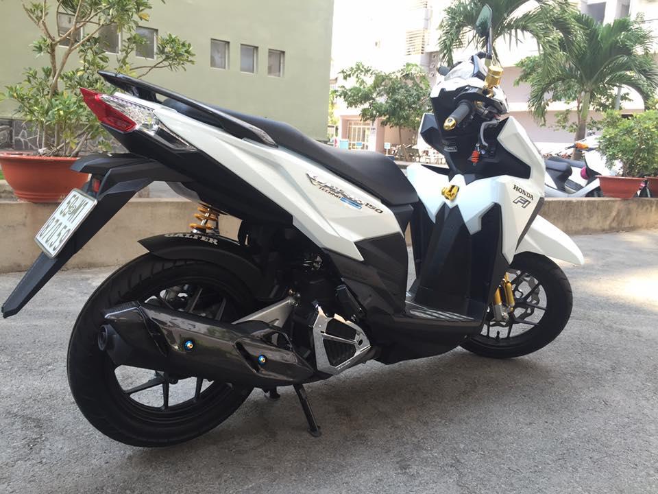 Honda vario 150 trắng tinh khôi đầy phong cách - 2