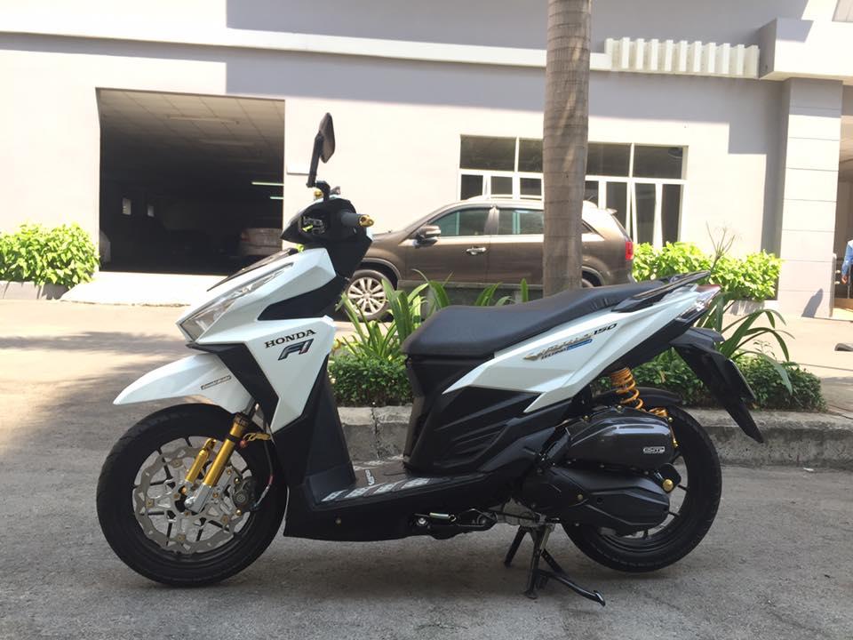 Honda vario 150 trắng tinh khôi đầy phong cách - 4