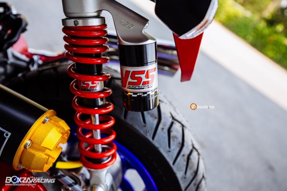 Honda zoomer-x độ nổi bật với phiên bản transformer
