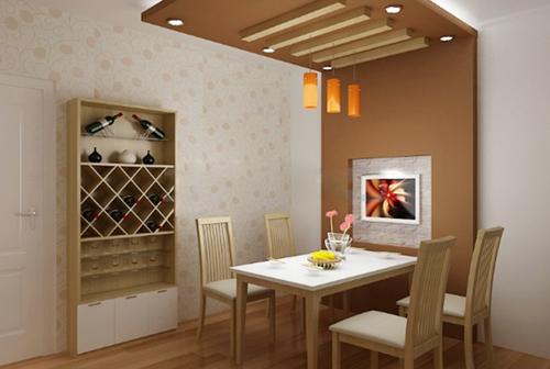 Kỹ thuật dùng đèn chiếu sáng cho phòng ăn thêm ấm áp