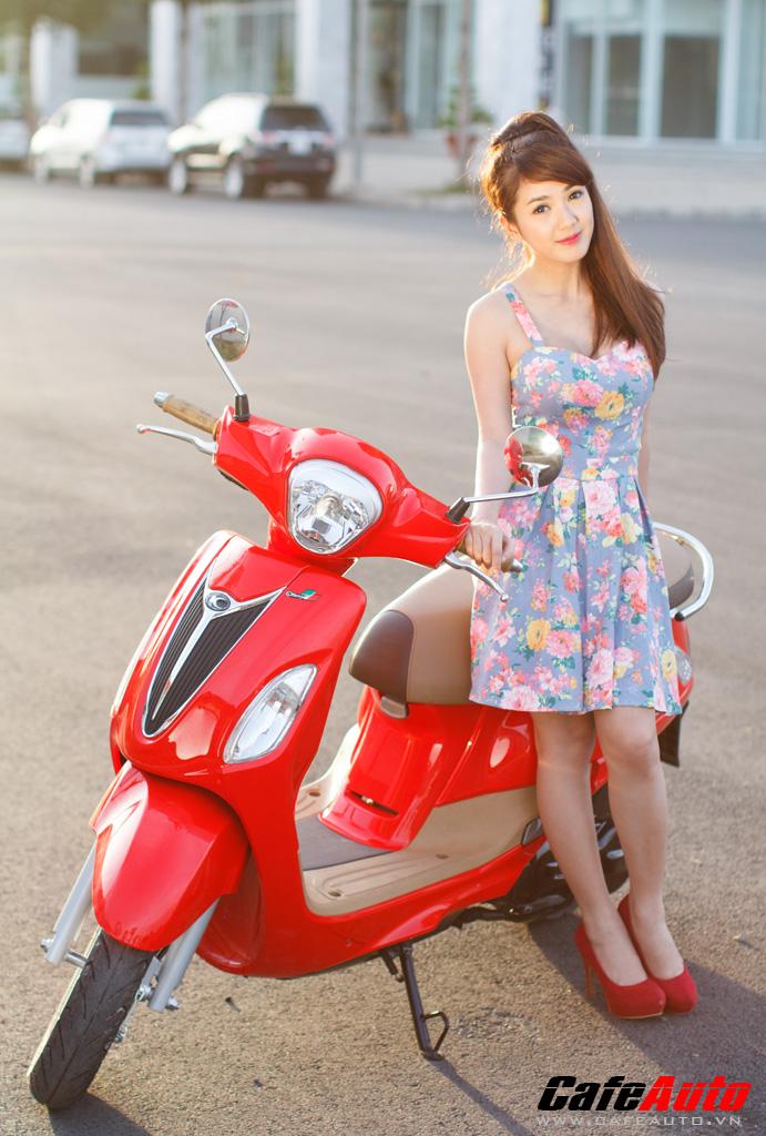 Kymco many fi so dáng cùng hotgirl linh napie - 2