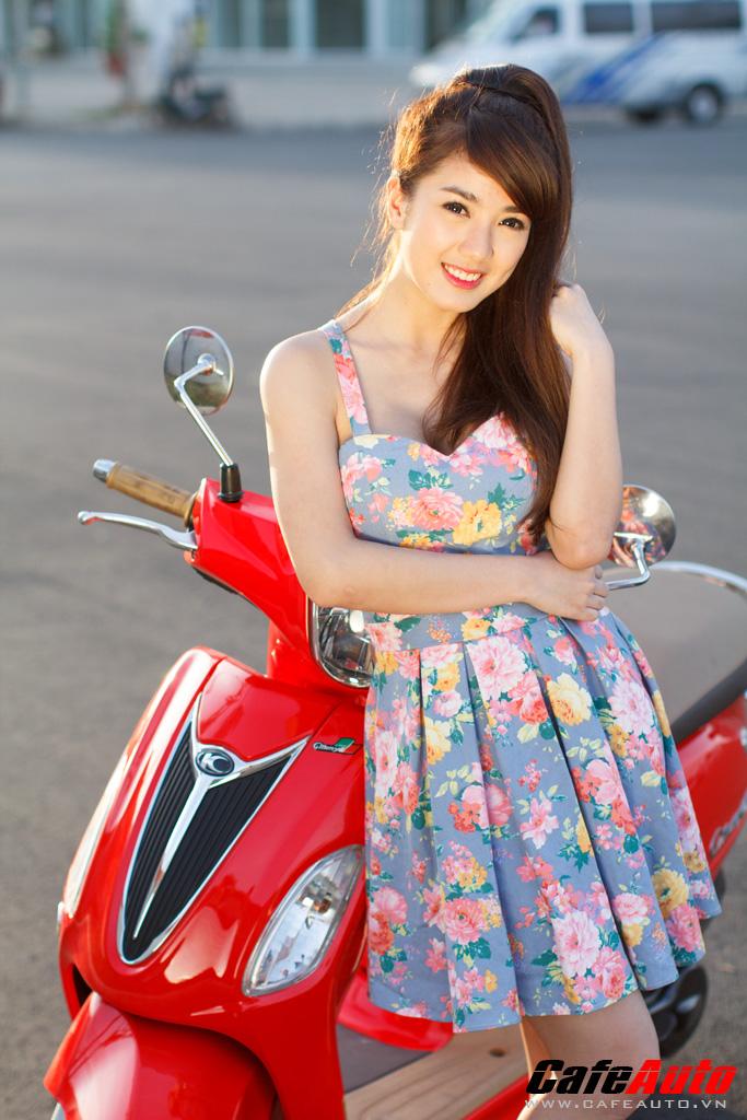 Kymco many fi so dáng cùng hotgirl linh napie - 3