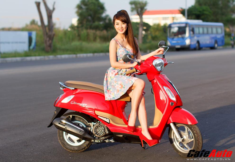 Kymco many fi so dáng cùng hotgirl linh napie - 4