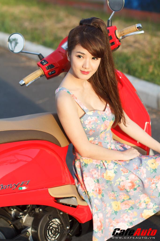 Kymco many fi so dáng cùng hotgirl linh napie - 6