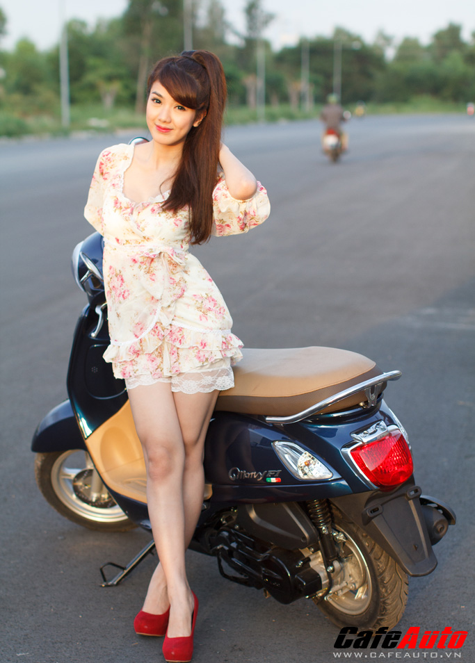 Kymco many fi so dáng cùng hotgirl linh napie - 7
