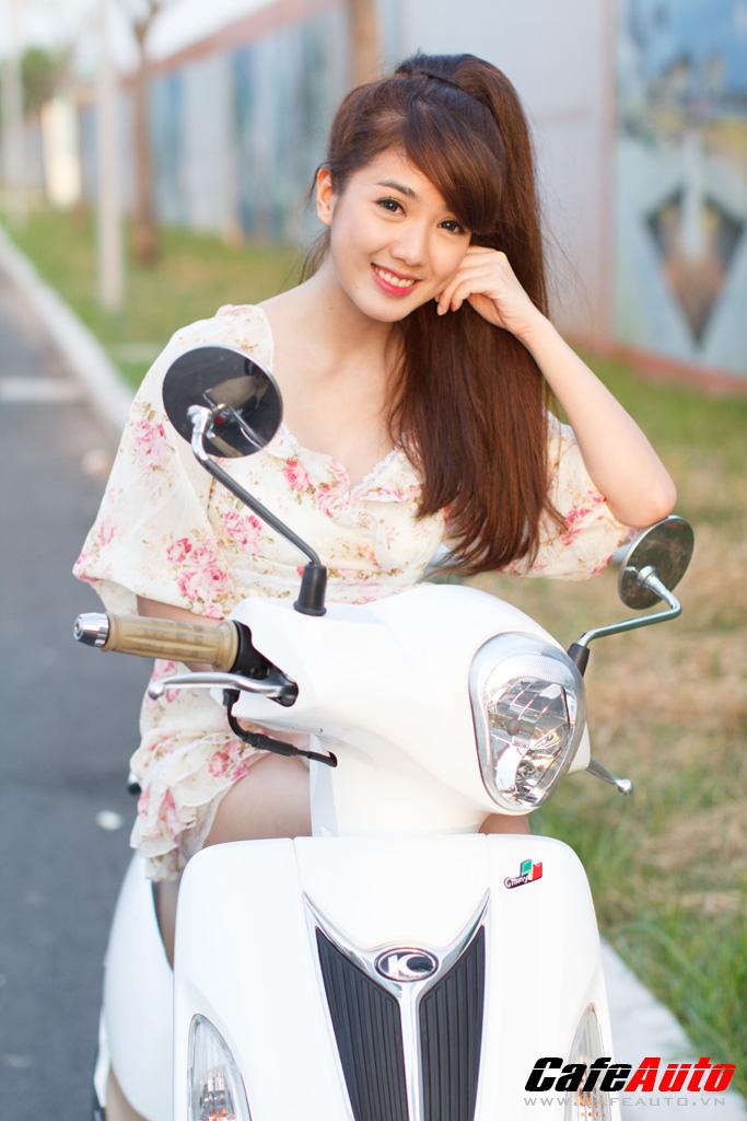 Kymco many fi so dáng cùng hotgirl linh napie - 12
