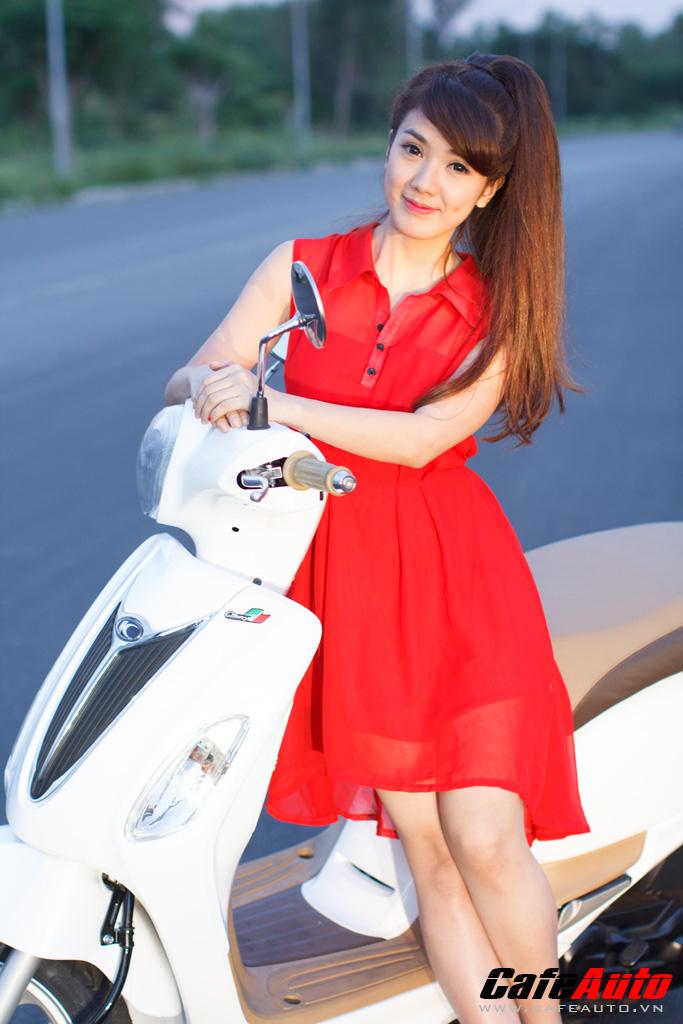 Kymco many fi so dáng cùng hotgirl linh napie - 19