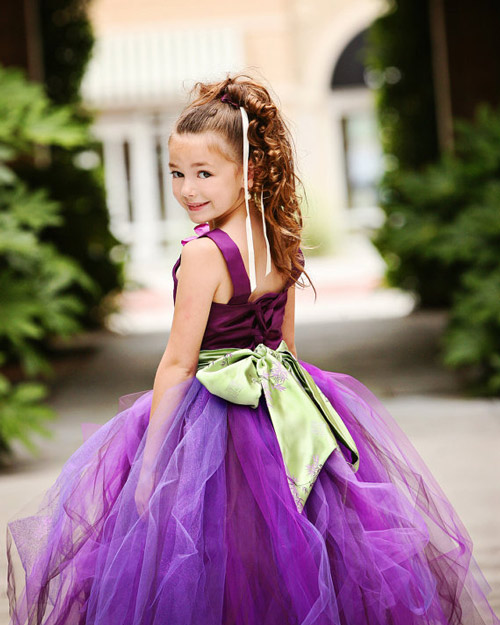 Làm váy công chúa cho con gái chỉ bằng màn tuyn - 14
