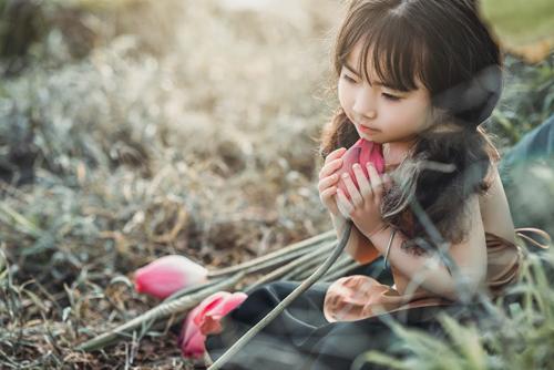 Mê mẩn bé gái hà nội 4 tuổi xinh như tiên nữ bên hồ sen - 8