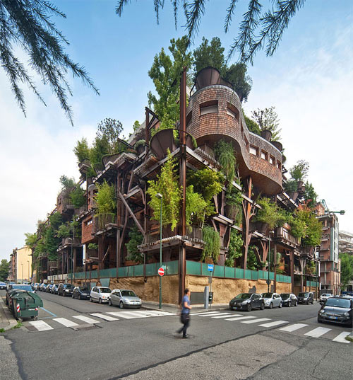 Mướt mắt nhà 5 tầng trồng 150 chậu cây xanh - 1