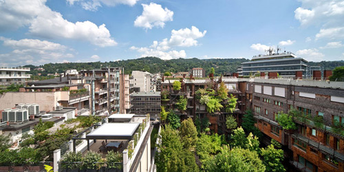 Mướt mắt nhà 5 tầng trồng 150 chậu cây xanh - 8