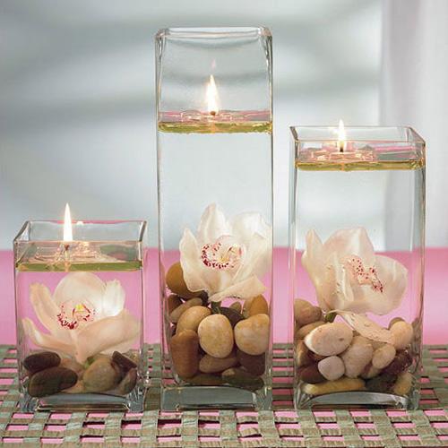 Ngất ngây bình cắm hoa trong nước mỏng manh - 2