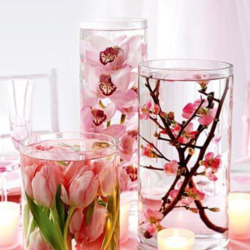 Ngất ngây bình cắm hoa trong nước mỏng manh - 3