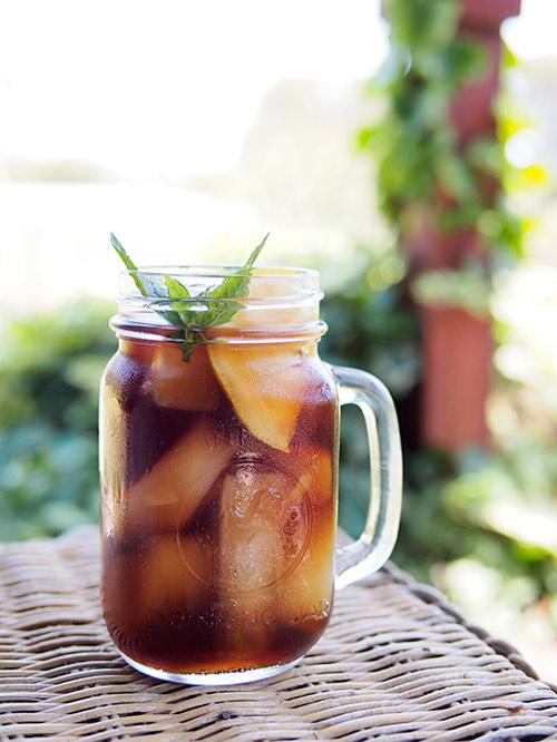 Nhâm nhi trà nóng vị hoa quả ngày lạnh - 6
