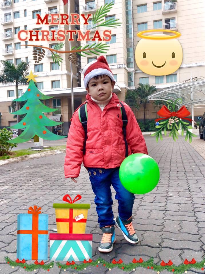 Noel 2015 sang chảnh của dàn nhóc tì nhà sao việt - 3