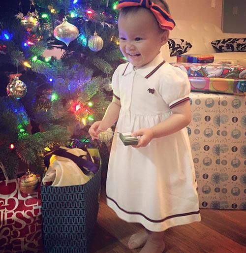 Noel 2015 sang chảnh của dàn nhóc tì nhà sao việt - 10