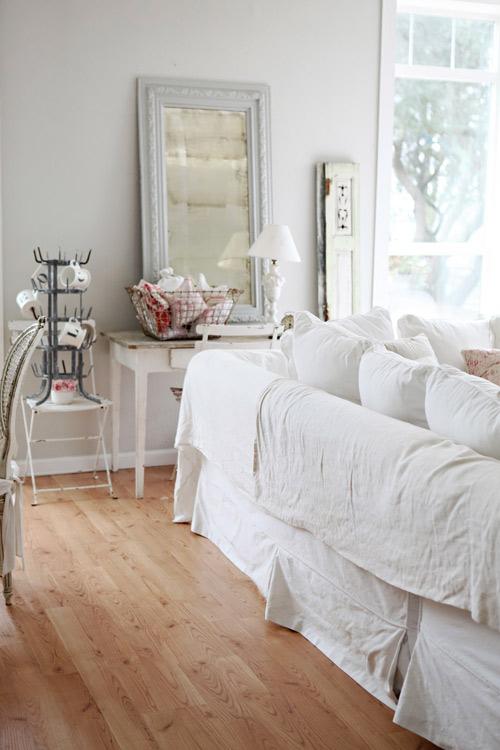 Phối màu trắng vào nội thất hợp phong thủy