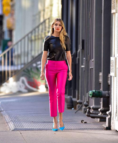 Phong cách thành thị của chân dài 9x sexy nhất làng mẫu