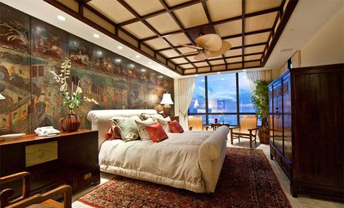 Phòng ngủ kiểu châu á - 2