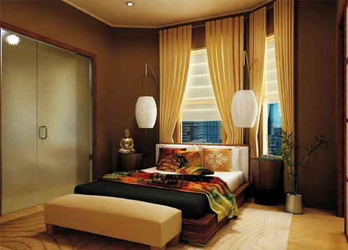 Phòng ngủ kiểu châu á - 10