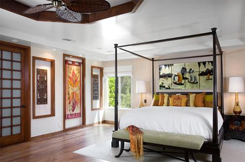 Phòng ngủ kiểu châu á - 12