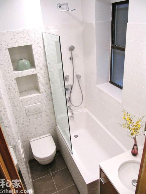 Phòng vệ sinh 3m2 thoải mái xây bồn tắm - 1