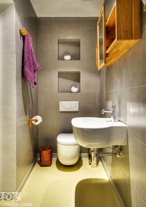 Phòng vệ sinh 3m2 thoải mái xây bồn tắm - 2