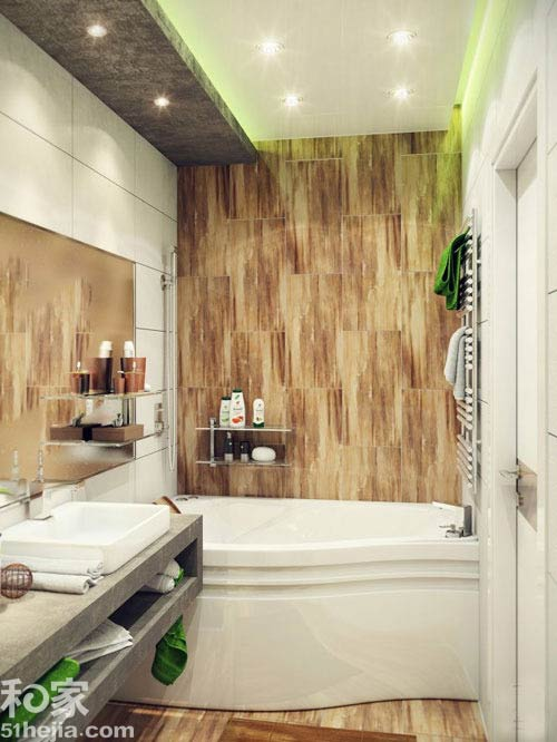 Phòng vệ sinh 3m2 thoải mái xây bồn tắm - 4