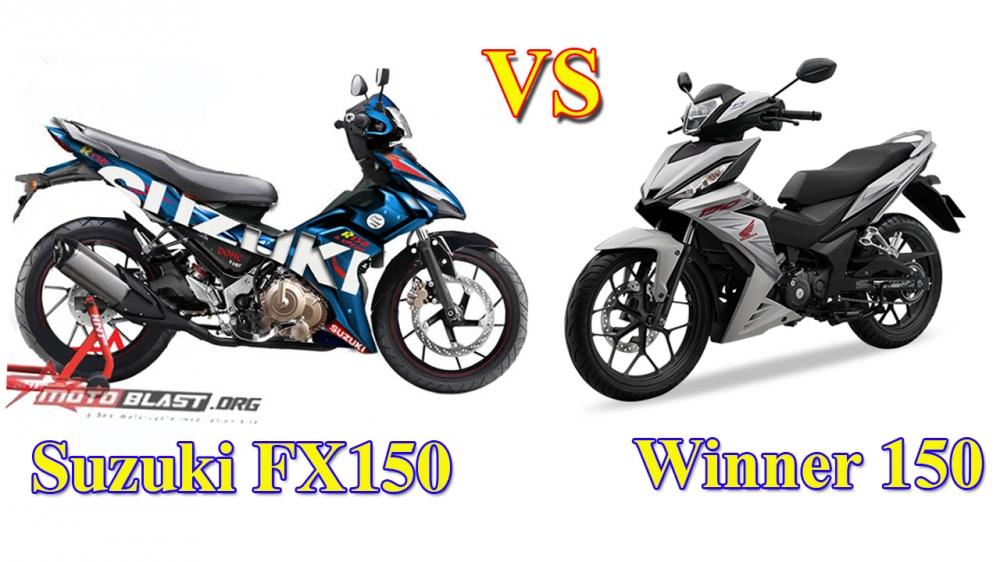 Suzuki fx150 vs honda winner 150 - 1