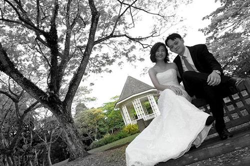 Thêm một bộ ảnh cưới thảm họa của cặp đôi singapore - 4