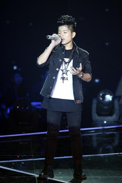 Thiện nhân trở thành quán quân giọng hát việt nhí 2014