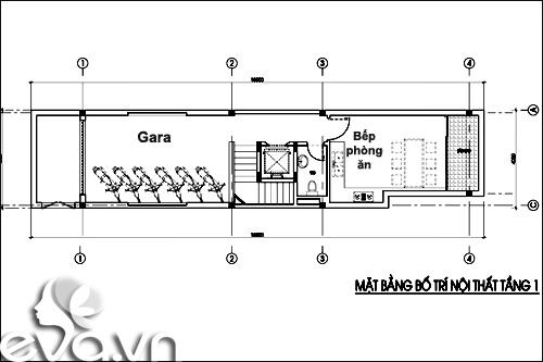Thiết kế nhà ở kết hợp cho thuê trên đất 72m2 - 2