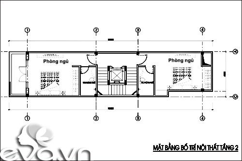 Thiết kế nhà ở kết hợp cho thuê trên đất 72m2 - 3