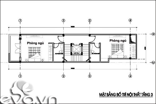 Thiết kế nhà ở kết hợp cho thuê trên đất 72m2 - 4
