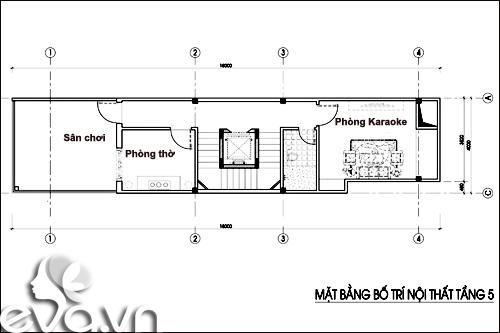Thiết kế nhà ở kết hợp cho thuê trên đất 72m2 - 6