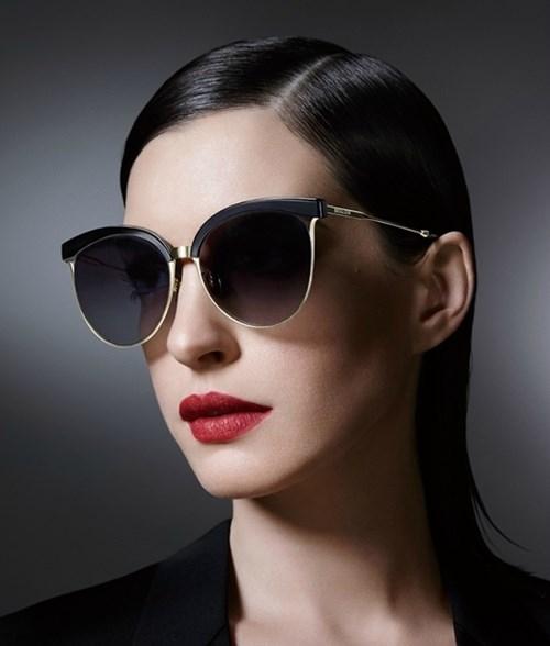 Trở thành quý cô thời trang thập niên 50 với mắt kính bolon - 4