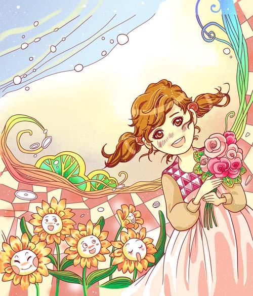 Truyện cổ tích những bông hoa của cô bé ida - 1