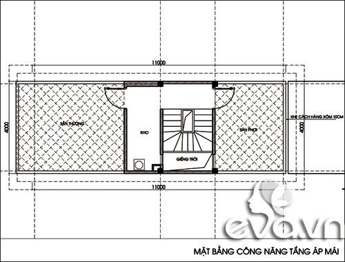 Tư vấn xây nhà ống 44m2 xinh xắn - 4