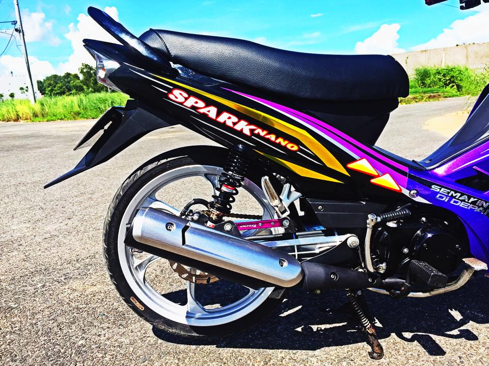 Yamaha sirius độ phiên bản spark nano đầy phong cách - 5