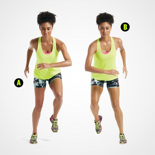 Bài tập 15 phút giúp chị em giảm cân và linh hoạt - 4