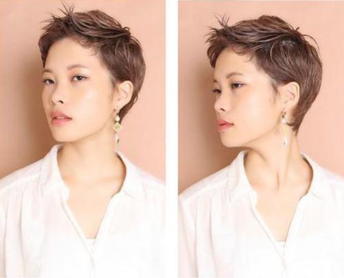 Các kiểu tóc ngắn giúp chị em trẻ thêm vài tuổi - 2