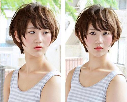 Các kiểu tóc ngắn giúp chị em trẻ thêm vài tuổi - 9