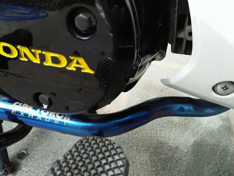Honda future x độ nhẹ đầy cá tính với các phụ kiện đồ chơi