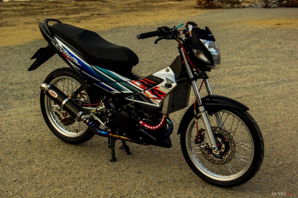 Honda sonic 125 độ full dàn đồ chơi hàng hiệu cực chất - 1