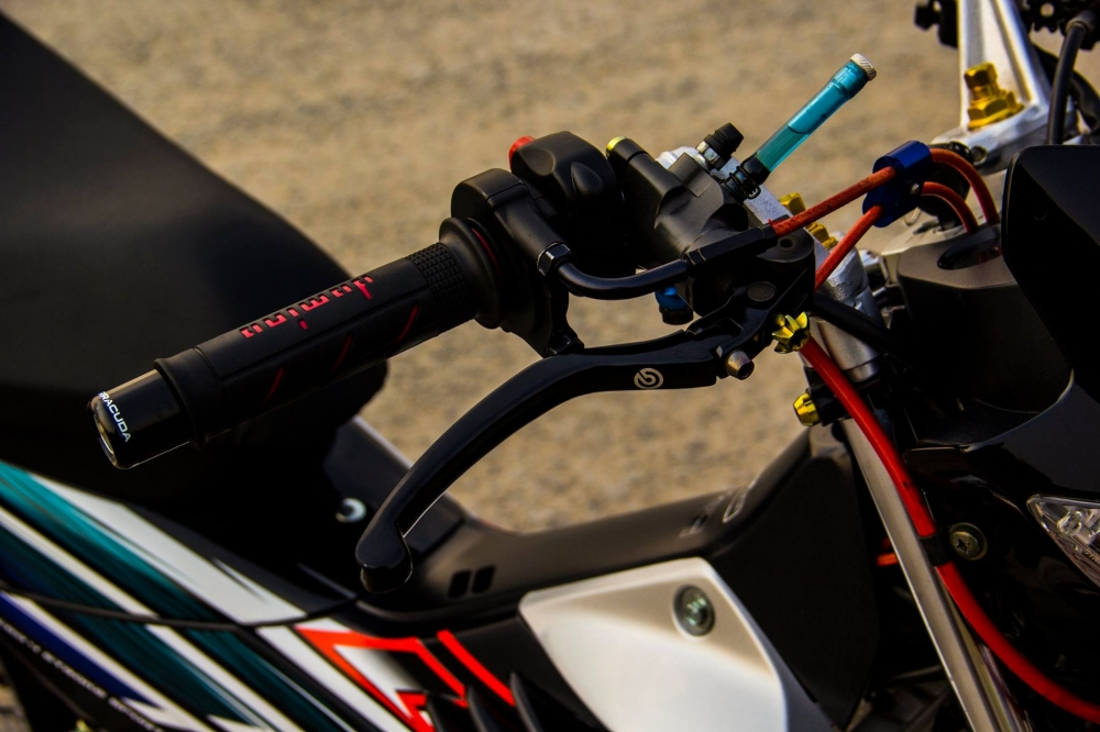 Honda sonic 125 độ full dàn đồ chơi hàng hiệu cực chất - 4